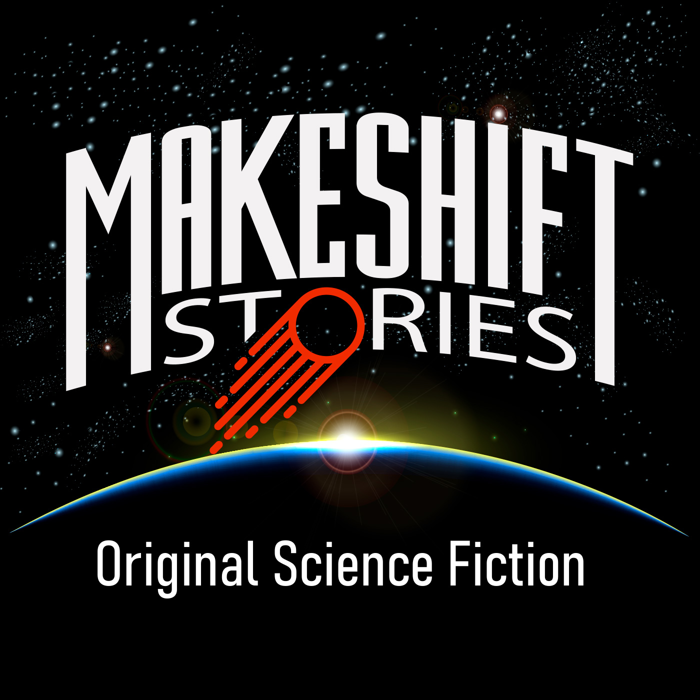 """Original Science Fiction – Makeshift Stories"" Podcast"