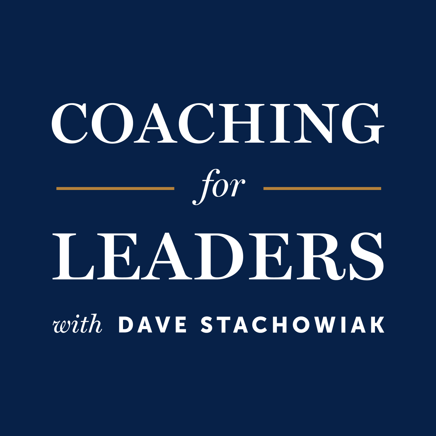 eb6123e223 Coaching for Leaders → Podbay