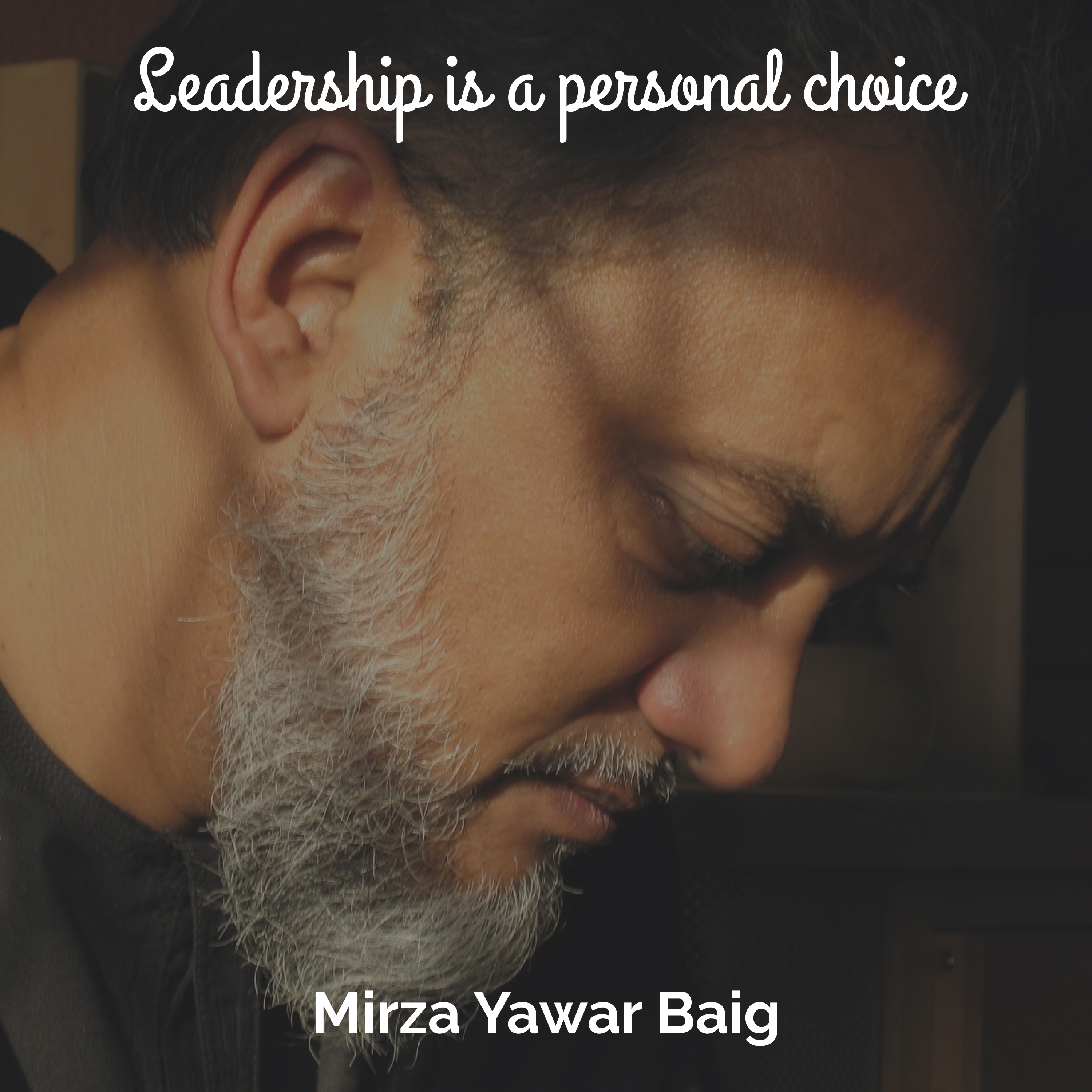 Leadership is a Personal Choice